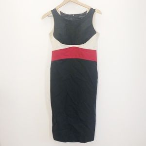 Anne Klein Colorblock Sheath Dress Size 4